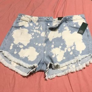 Wild Fable by Target Highrise Frayed Shorts